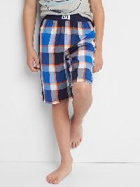 Gap Plaid Pj Shorts - Multi