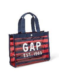 Gap Logo Jelly Swim Tote - Pure red