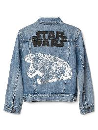 Gapkids &#124 Star Wars Denim Jacket - Medium wash