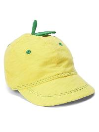 Gap Lemon Baseball Hat - Bright lemon meringue