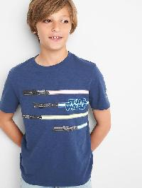 Gapkids &#124 Star Wars Graphic Crew Tee - Blue shade