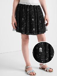 Gapkids &#124 Star Wars Shimmer Tulle Skirt - True black