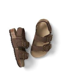 Gap Cork Buckle Sandals - Pioneer brown