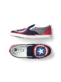Gapkids &#124 Marvel Slip On Sneakers - Captain america