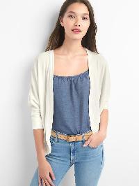 Gap Softspun Open Front Cardigan - New off white