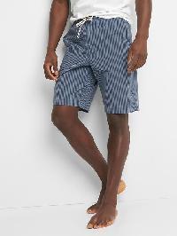 "Gap Stripe Sleep Shorts (10"") - Night"