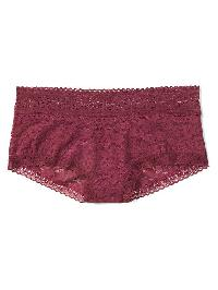 Gap Super Soft Lace Shorty - Crushed berry