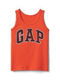 Gap Logo Tank - New dark orange