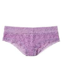 Gap Super Soft Lace Tanga - Lilac surge