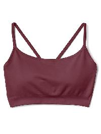 Gap Seamless Racerback Pullover Bra - Crushed berry
