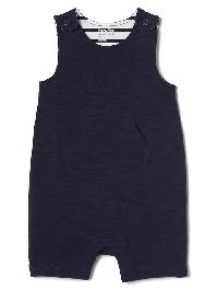 Gap Short Overall One Piece - Blue uniform