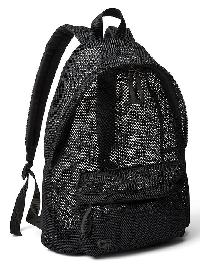 Gapfit Mesh Backpack - True black