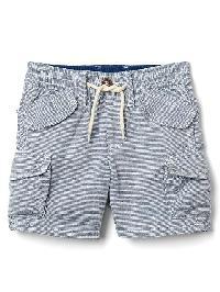 Gap Stripe Beachcomber Shorts - New zephyr