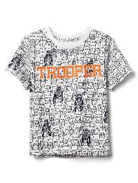 Babygap &#124 Star Wars Graphic Slub Tee - New off white