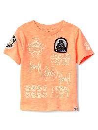 Gapkids &#124 Star Wars Glow In The Dark Tee - Jos orange