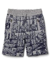 Babygap &#124 Star Wars Zip Shorts - Silver 873