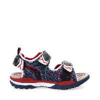 JR BOREALIS BOY - Navy and Red