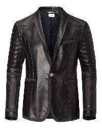 "leather blazer ""join us"""