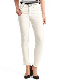 Gap Authentic 1969 True Skinny Ankle Jeans - Chalk