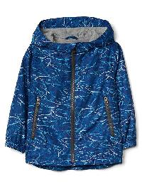 Gap Jersey Lined Windbuster - Blue print