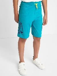 Gap Beachside Pull On Slub Shorts - Gem stone