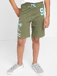 Gap Beachside Pull On Slub Shorts - Desert cactus