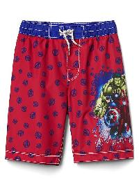 Gapfit &#124 Marvel Superhero Board Shorts - Marvel group shot