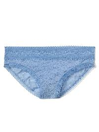 Gap Super Soft Lace Bikini - Utah sky