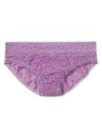 Gap Super Soft Lace Bikini - Lilac surge