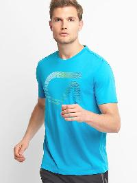 Gap Gdry Graphic Tee - Atomic blue