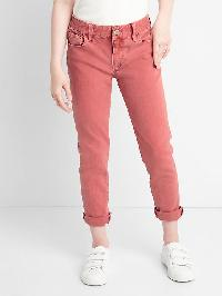 Gap Stretch Girlfriend Jeans - Denim