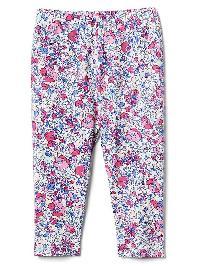 Gap Floral Stretch Jersey Leggings - Purple multi floral