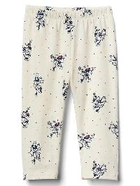 Babygap &#124 Disney Baby Minnie Mouse Leggings - Ivory frost