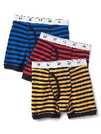 Gap Stripe Boxer Briefs (3 Pack) - Multi