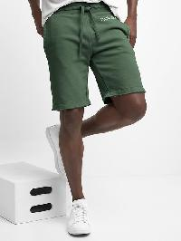 Gap French Terry Raw Hem Shorts - Cucumber peel