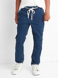 Gap Pull On Denim Pants - Dark wash