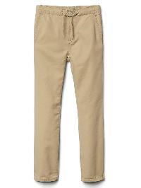 Gap Pull On Canvas Pants - Khaki