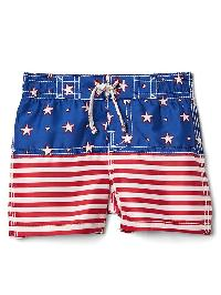 Gap Americana Swim Trunks - Matisse blue 537