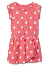 Gap Print Tulip Dress - Dot print
