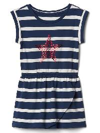 Gap Print Tulip Dress - Star
