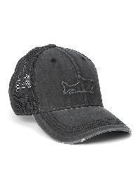 Gap Mesh Patch Baseball Hat - Shark