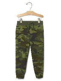 Gap Camo Jogger Pants - Green camo
