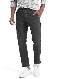 Gap Wader Slim Fit Pants - Washed black