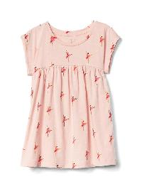 Gap Print Shirred Top - Ballerina