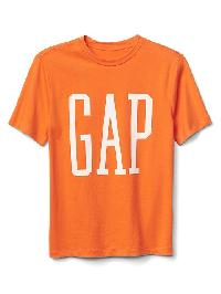 Gap Logo Short Sleeve Tee - Orange jubilee