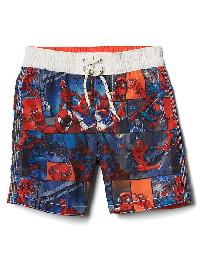 Babygap &#124 Marvel Spider Man Swim Trunks - Hot red 664