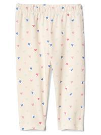 Gap Print Stretch Jersey Leggings - Multi hearts
