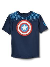 Babygap &#124 Marvel Superhero Rashguard - Elysian blue
