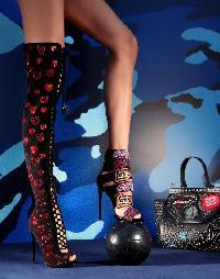 """Boots High Heels High """"Ganesha"""""""