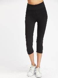 Active Cropped Gym Leggings